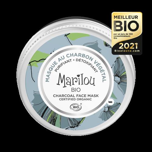 Βιολογική Μάσκα Προσώπου Με Άνθρακα 75ml | Marilou Bio