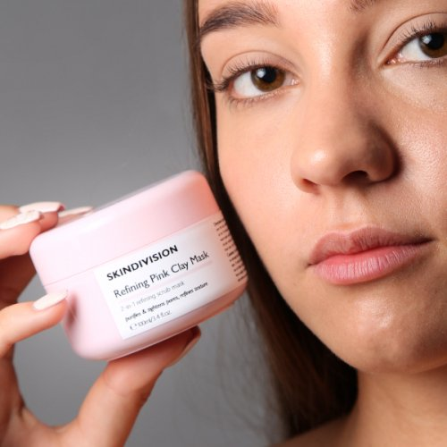 Μάσκα Καθαρισμού Pink Clay 100ml | SkinDivision