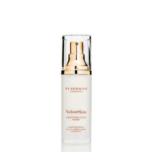 VelvetSkin Smoothing Glow Primer 30ml | Pure White