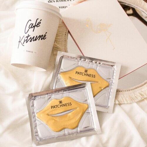 Lip Patch Gold 5pcs   Patchness